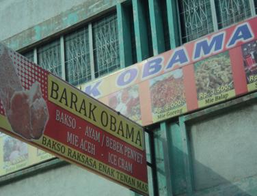 Barak Obama di Medan