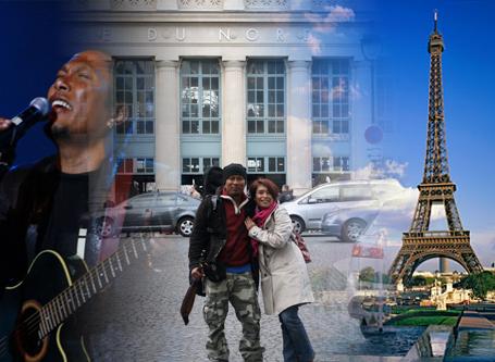 Sabtu ini Tongam Sirait Akan Live Dari KBRI Paris