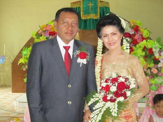 pernikahan di pulau sibandang