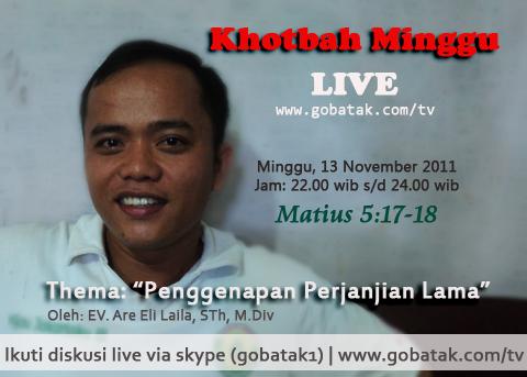 Event live khotbah minggu episode 4